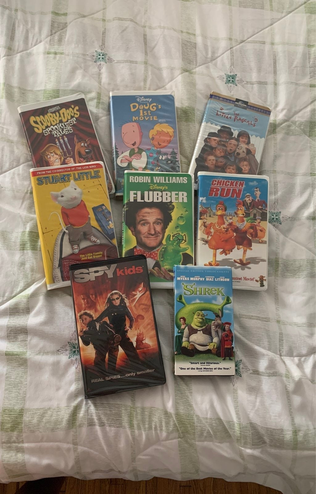 VHS tapes collection of Action/Adventure