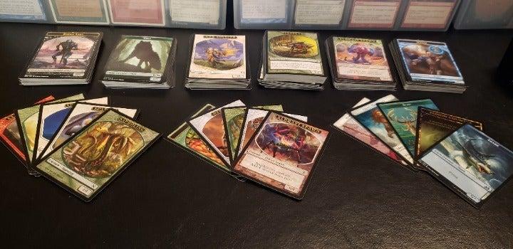 MTG MAGIC 50 Assorted Token Cards