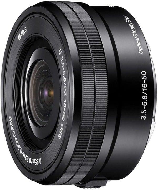SONY SELP1650 16-50mm F/3.5-5.6 PZ OSS Zoom Lens For E-Mount Camera - Black