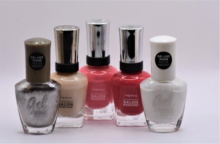 Your entire Summer Nail Line Up!!  Buy 4 I will send you 1 FREE!! LA Girls +