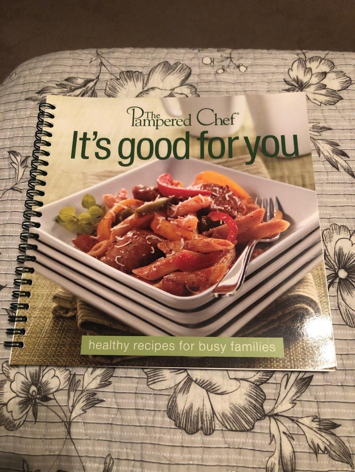 Pampered Chef Cookbook NEW
