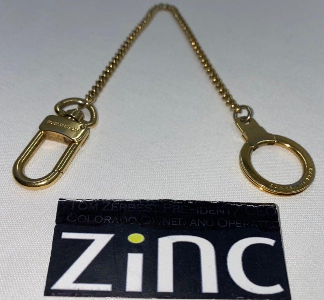 Louis Vuitton Gold Anokre Chain Charm
