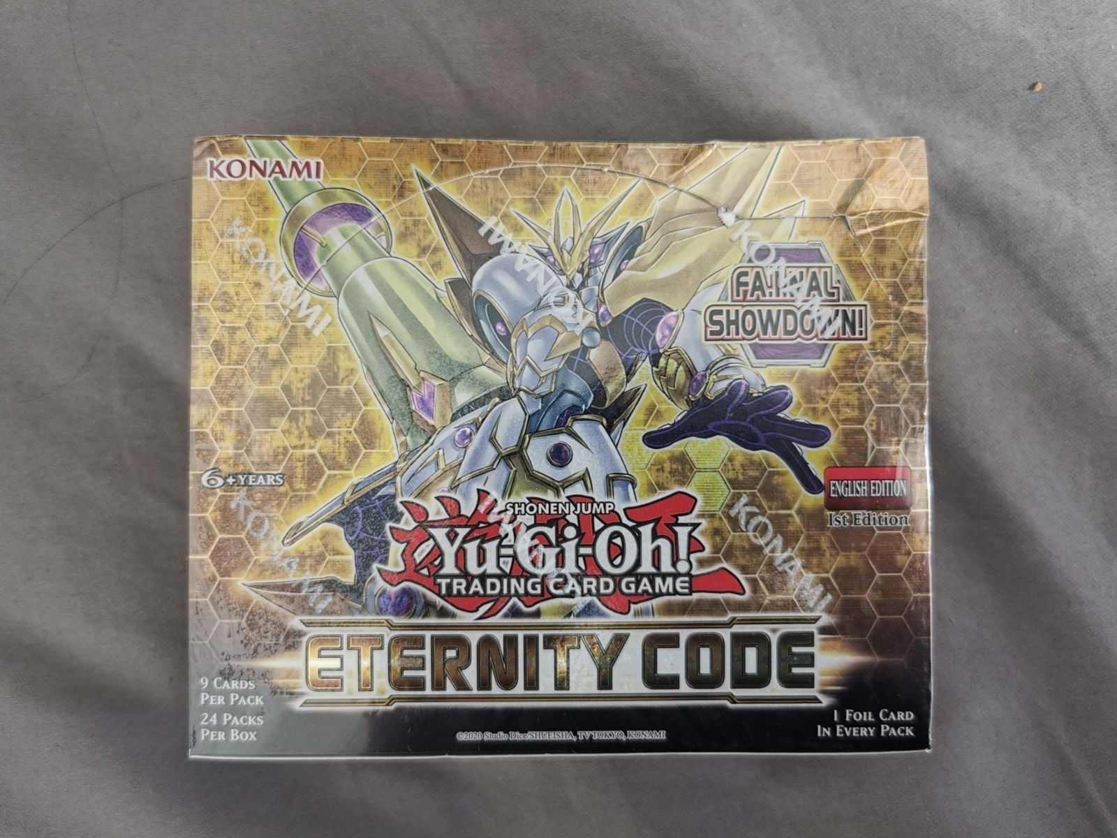 Yugioh Eternity Code 1st Edition Box New