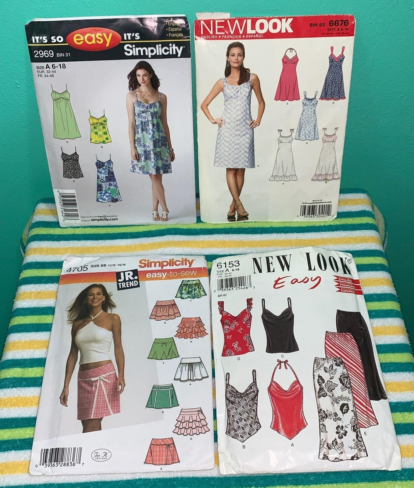 Ladies sewing pattern bundle