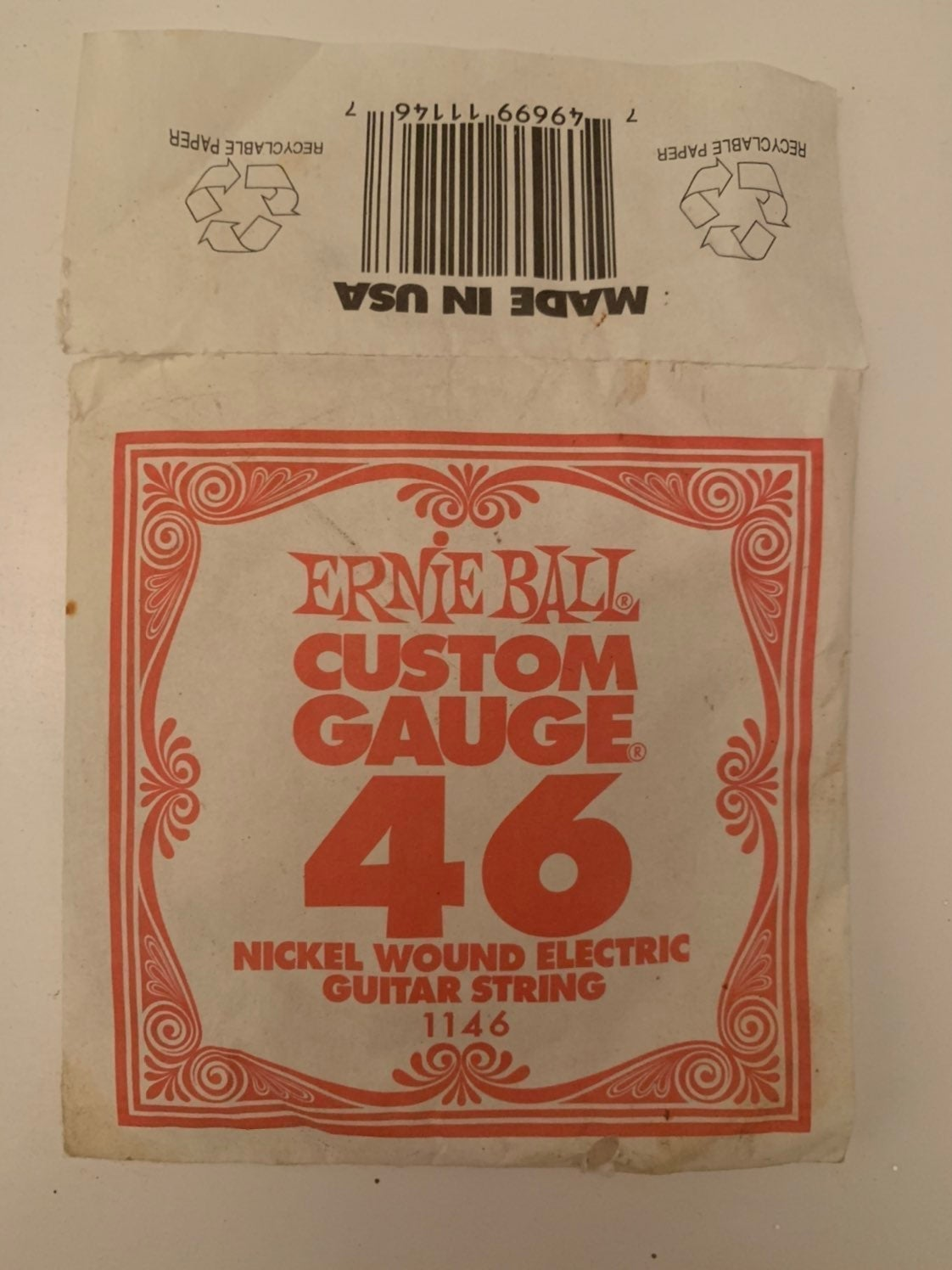 Ernie Ball Guitar String