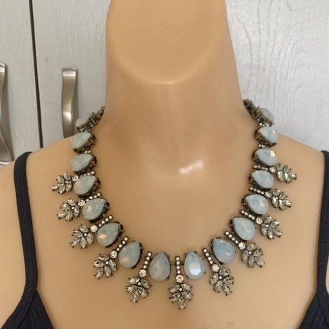 BaubleBar Opal Wreath Collar Necklace