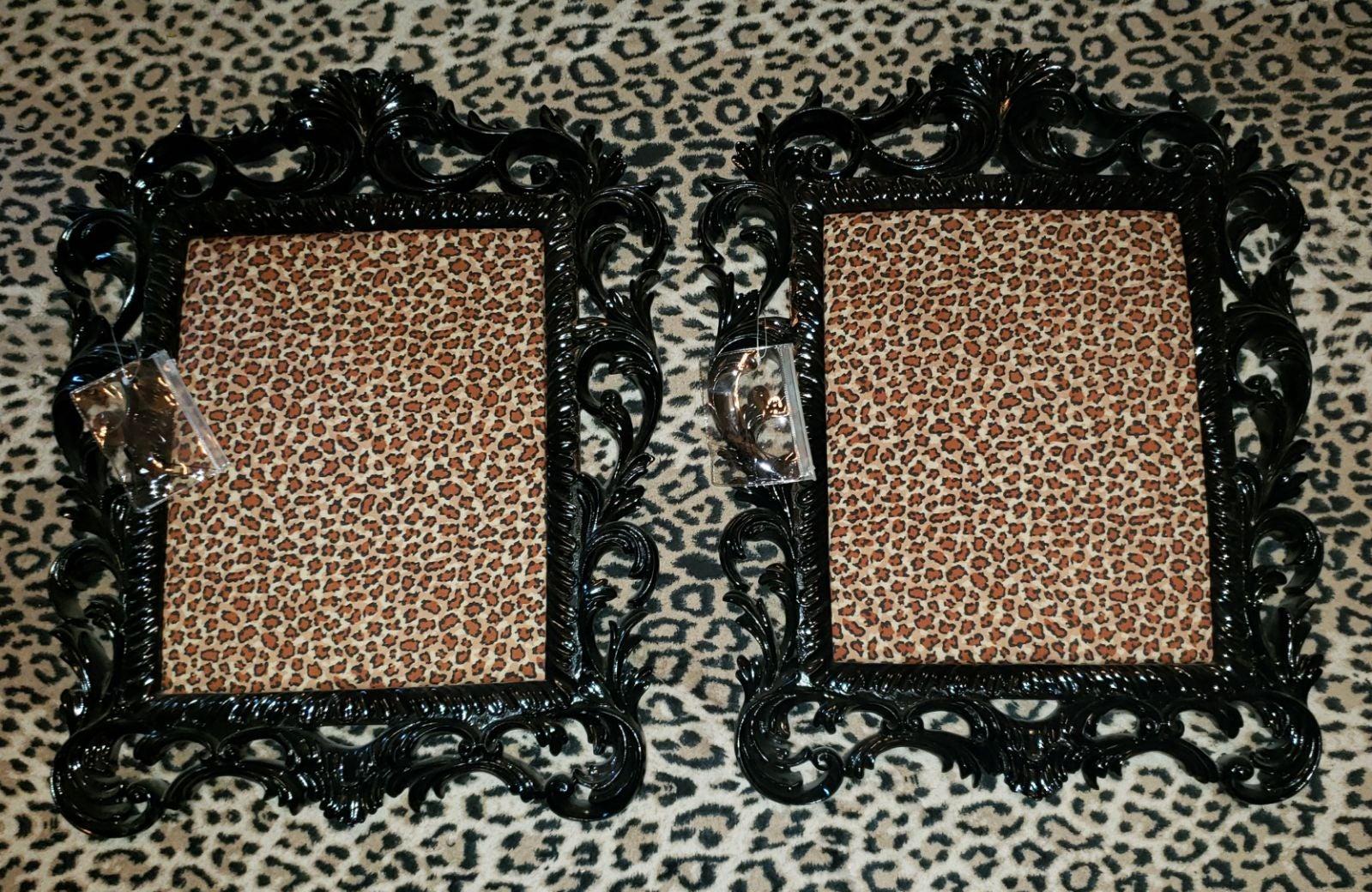 Black Ornate Wall Frame Pin boards Decor