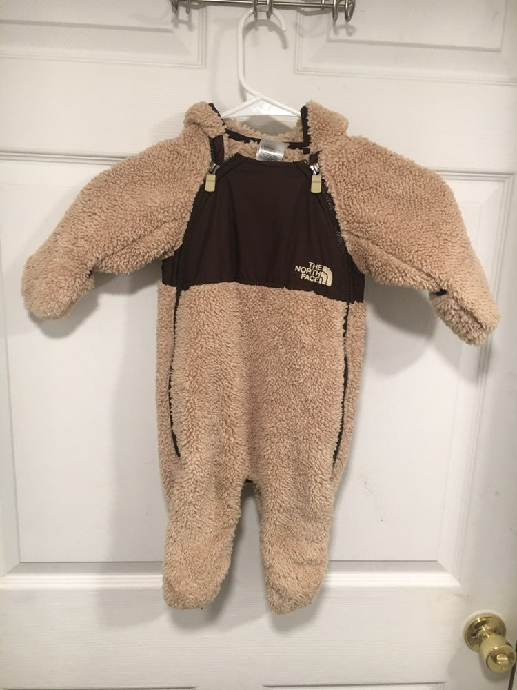 North face baby suit