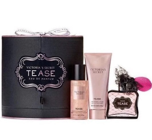 VS Tease Perfume Lotion Shimmer Mist Box