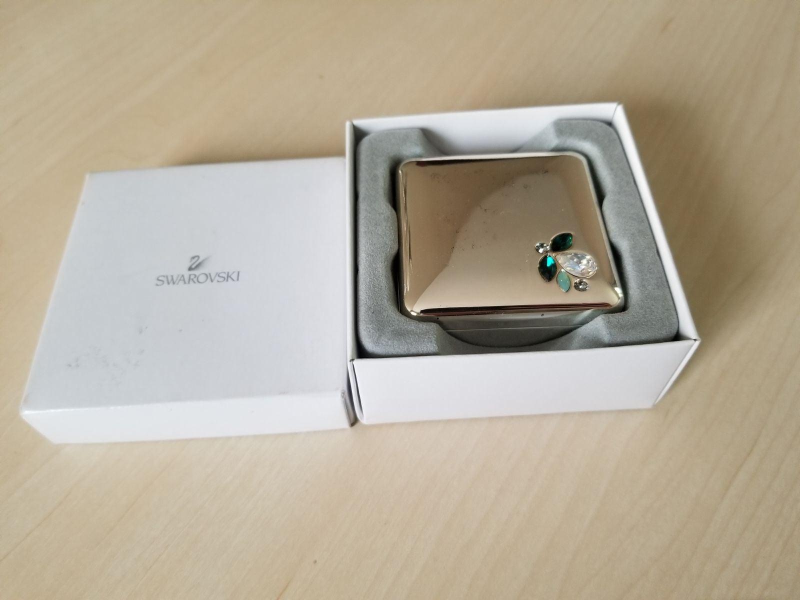 Swarovski jewelry box