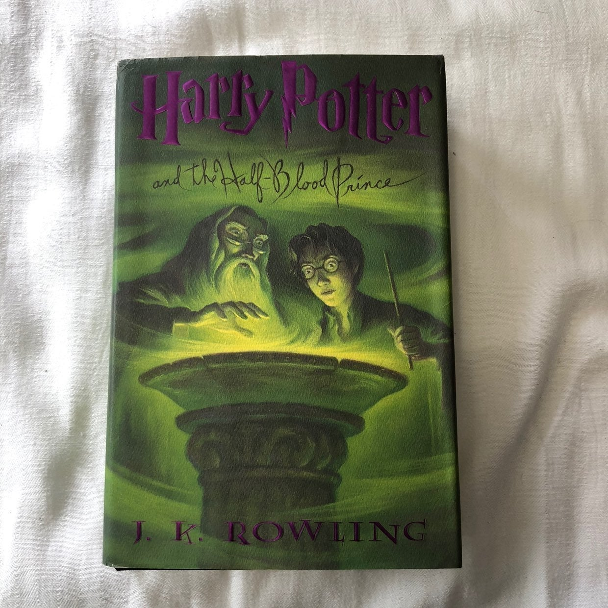 Harry Potter and The Half Blood Prince H