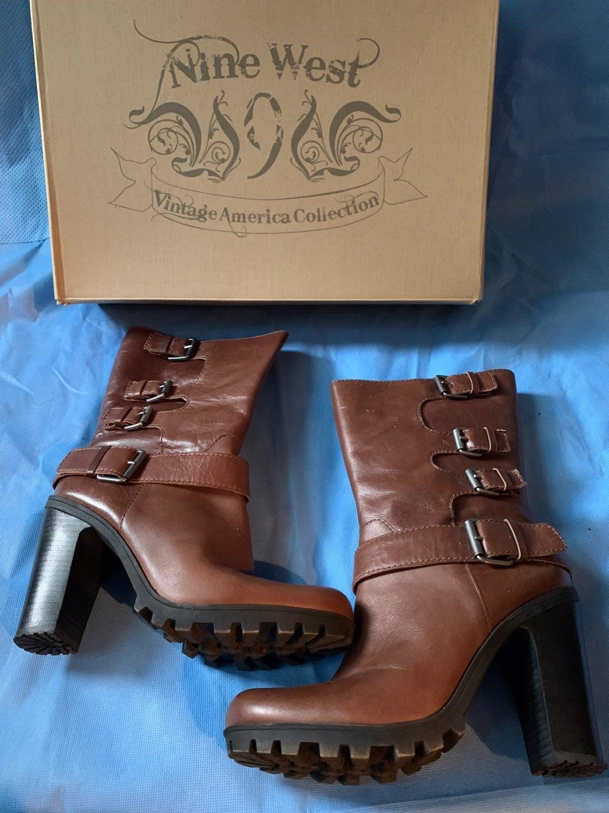 Nine West Javana Brown Boots