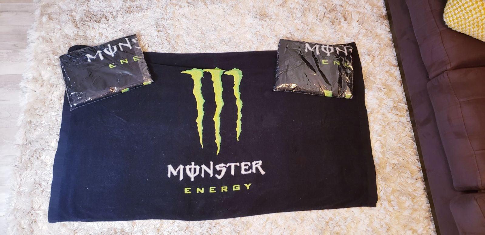 NWT Monster Energy Beach Towel
