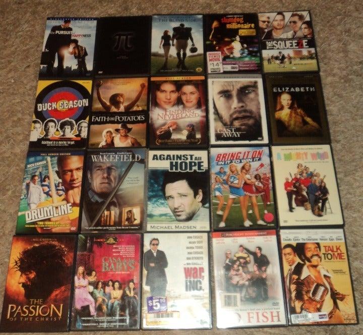 LOT OF 20 - DRAMA / THRILLER & MORE DVDS