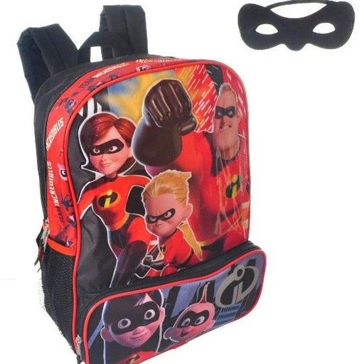 "Incredibles 2  Boy 16"" School Backpack"