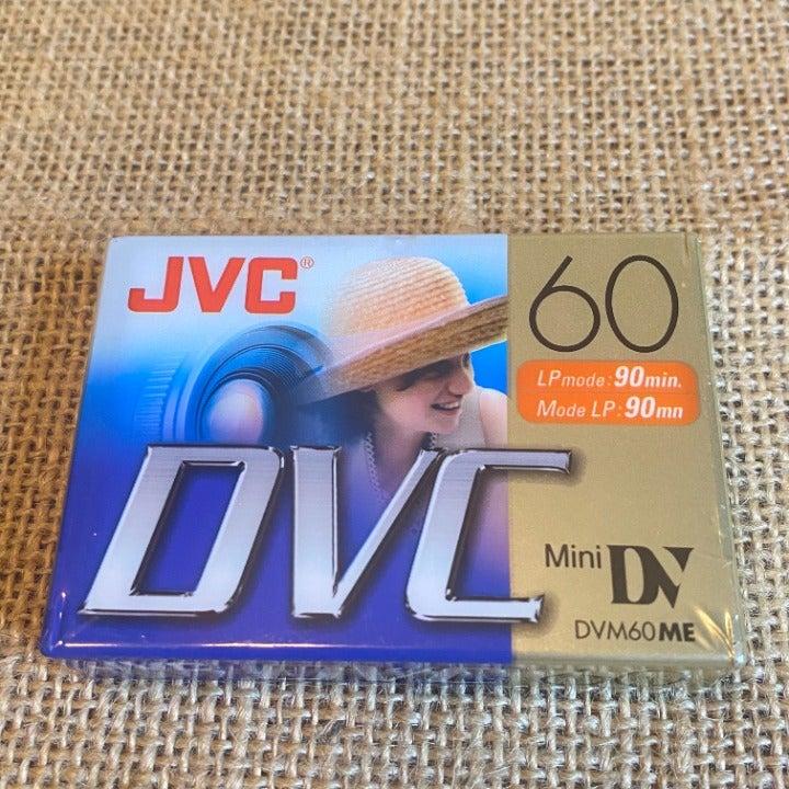 2 JVC DVC MiniDV Tapes