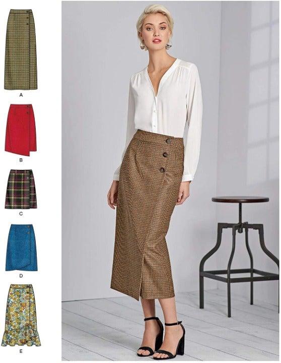 Simplicity 8416 Misses Shirt Pattern