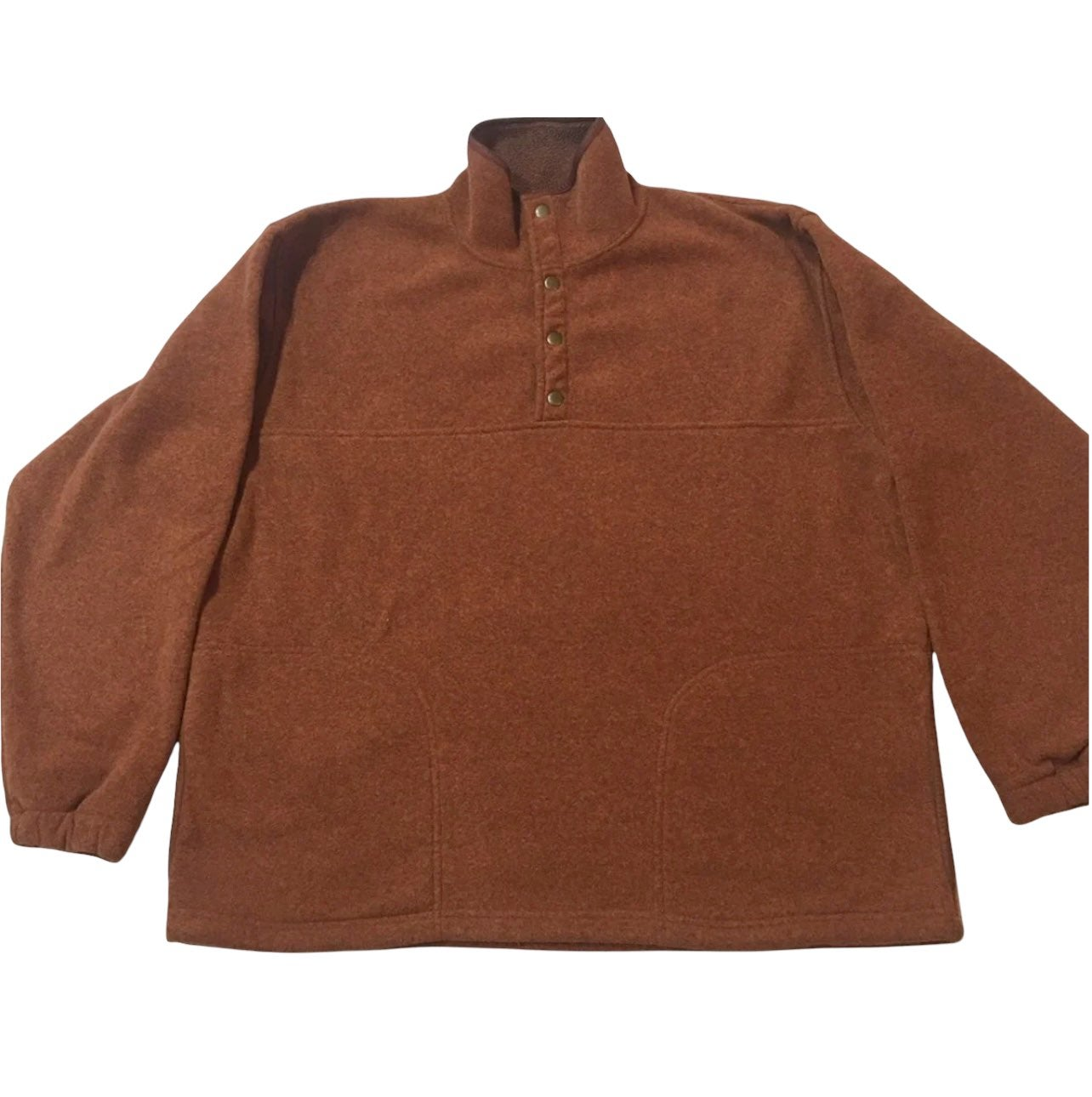Orvis 1/4 Snap Pullover Fleece Men L
