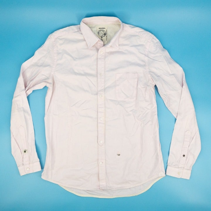Diesel Button Shirt Collared Long Sleeve