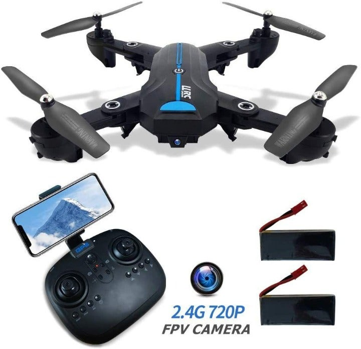 Foldable GPS FPV Drone with 720P HD