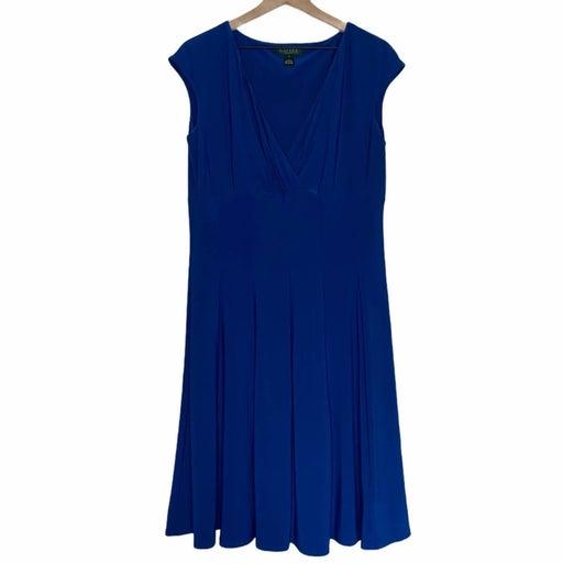 Lauren Ralph Lauren Blue Cannes Dress