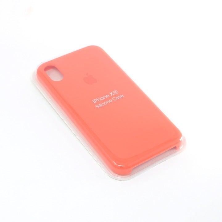 iPhone Xr Silicone Case Orange