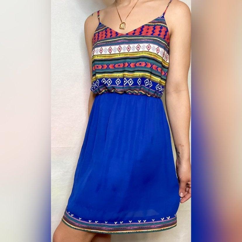 Tribal Print Sun Dress