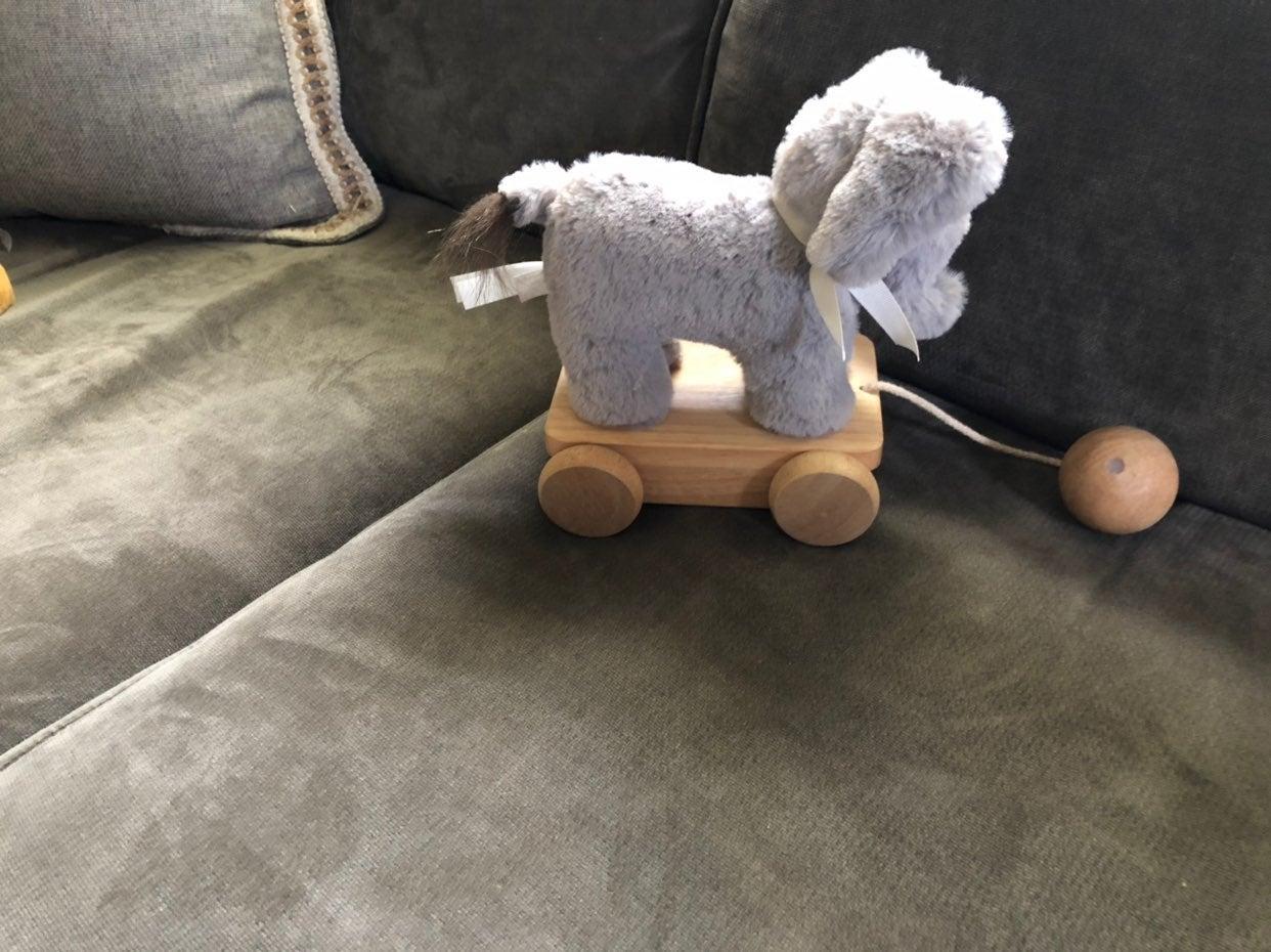 Pottery Barn Elephant Pull Toy