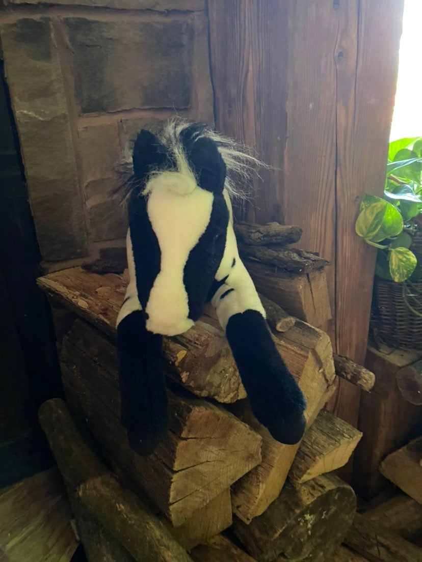 Breyer Horse Stuffed Animal Tag attached