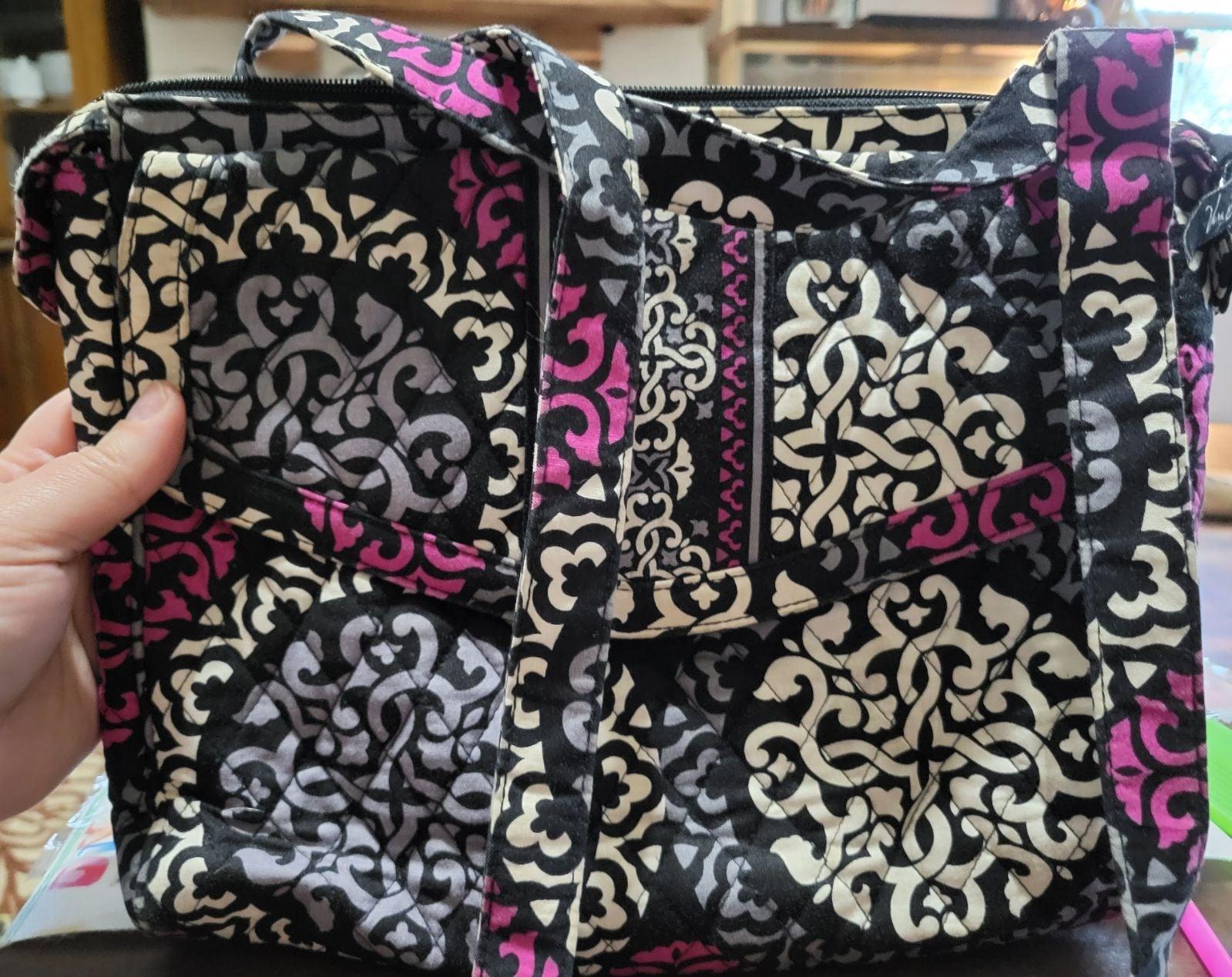 Vera Bradley Canterberry Magenta bag