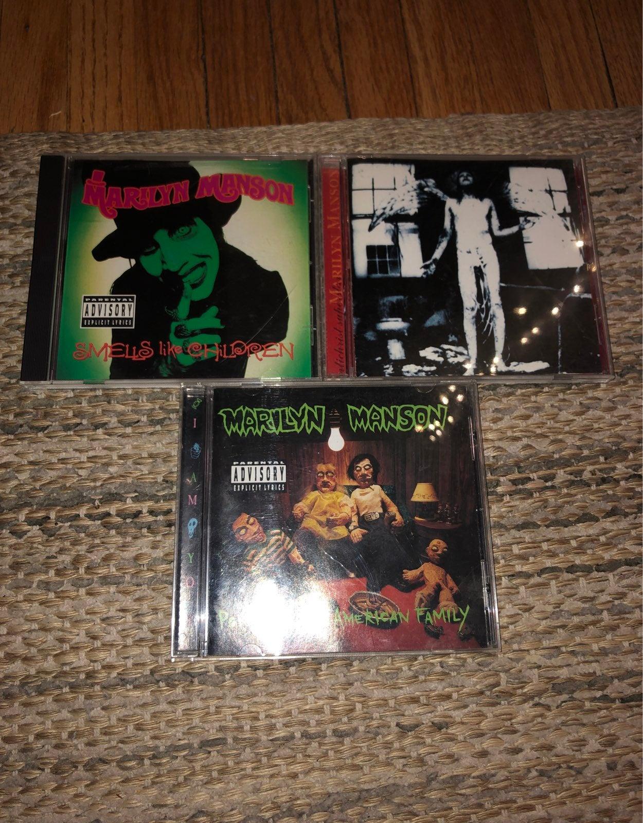 Marilyn Manson CD's