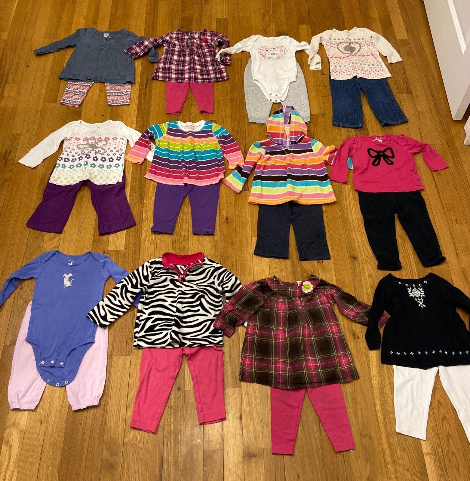 12 outfits size 18 mo lot