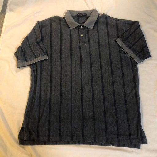 Ruff Hewn Blue Well Worn Size XL Polo Shirt Cotton Blend