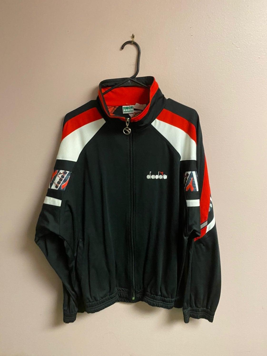 Diadora vintage track jacket