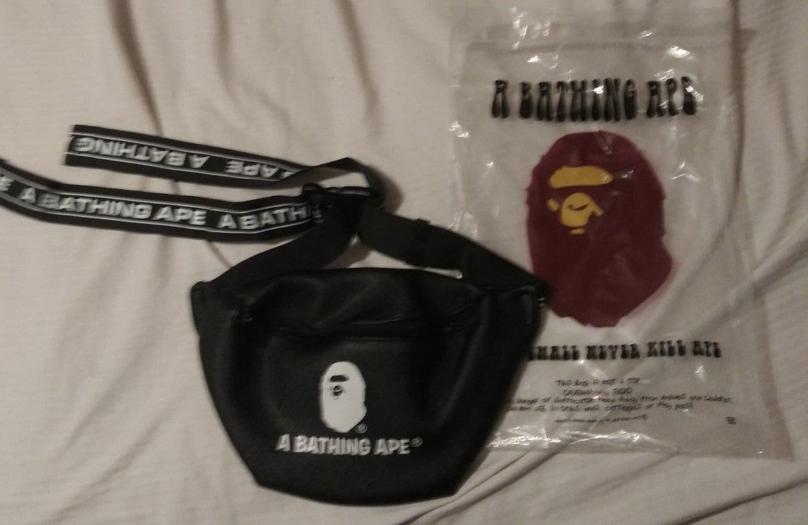 bape side bag