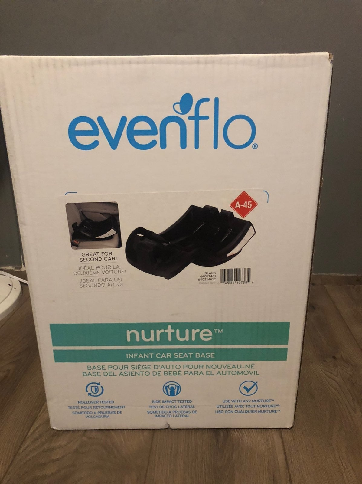 Brand new never opened car seat base