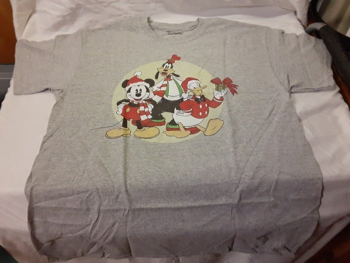 XMAS  Mickey, Goofy and Donald t-shirt