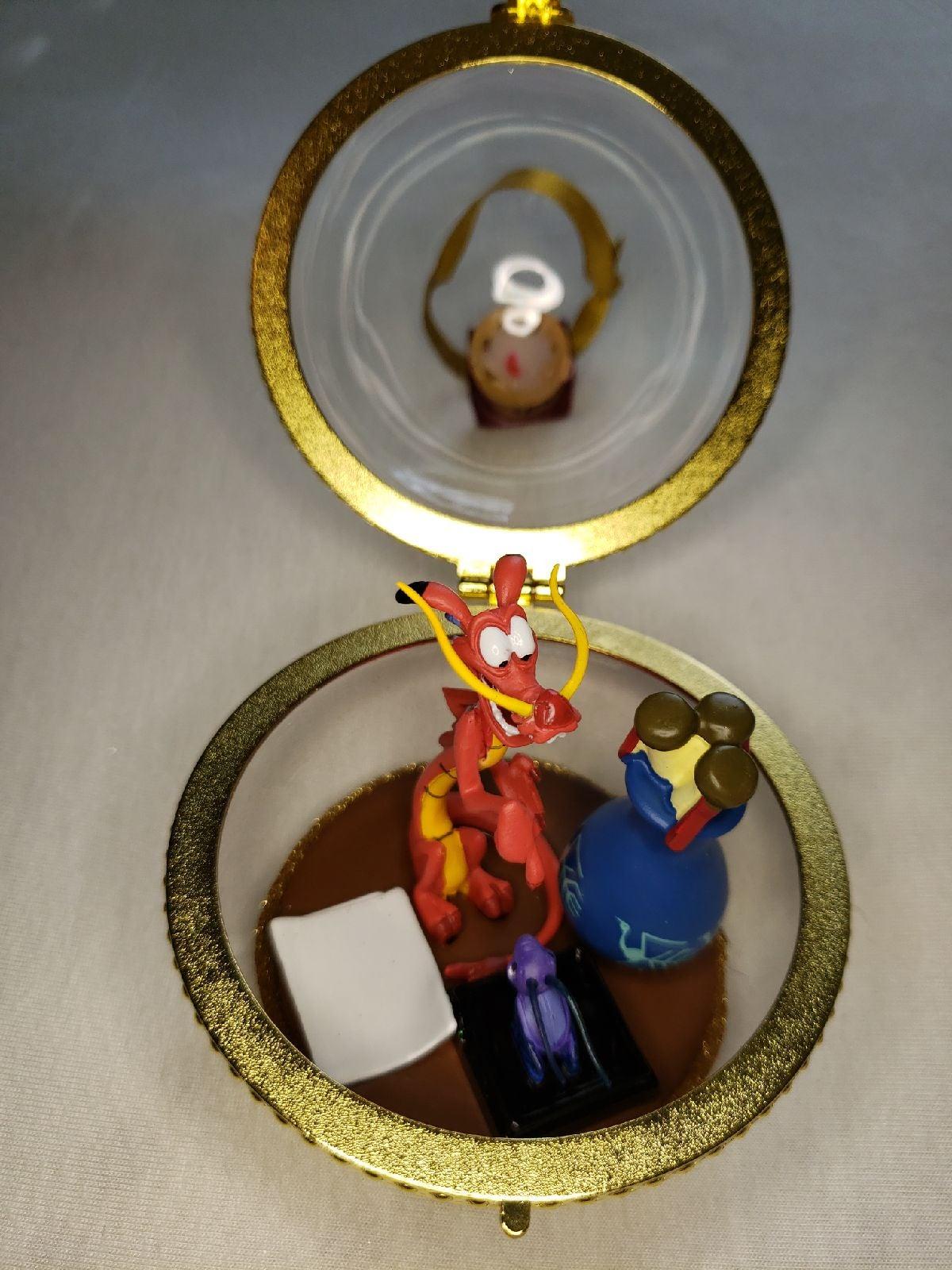 Mushu and Cri-kee Mulan Disney Duo ornam