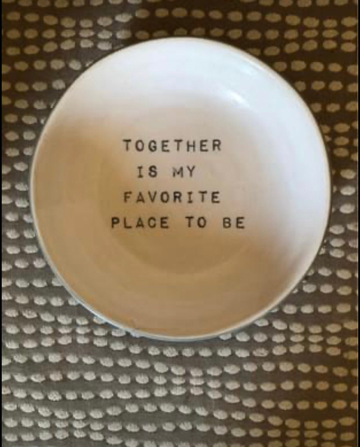 Valentines Day Plate