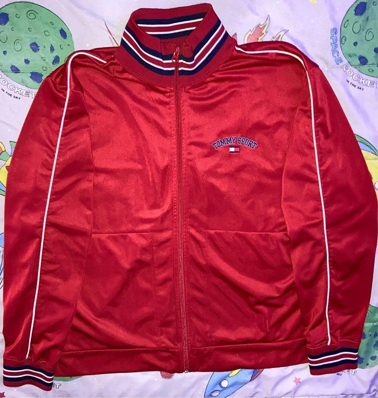Vintage Tommy Jeans Fleece Track Jacket