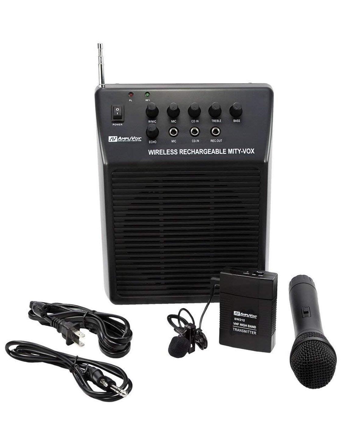 Amplivox SW212 Mity-Vox Wireless AC/DC R