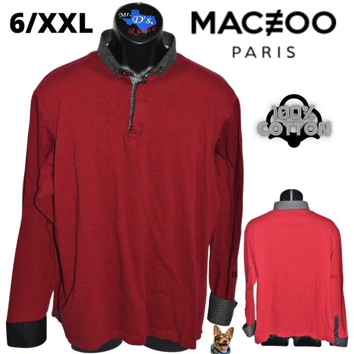 Maceoo Paris 6/XXL Black Red Polka Dot