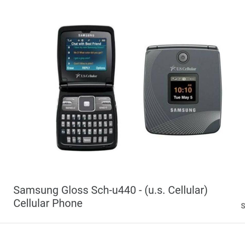 Samsung Gloss Sch-u440 US Cellular