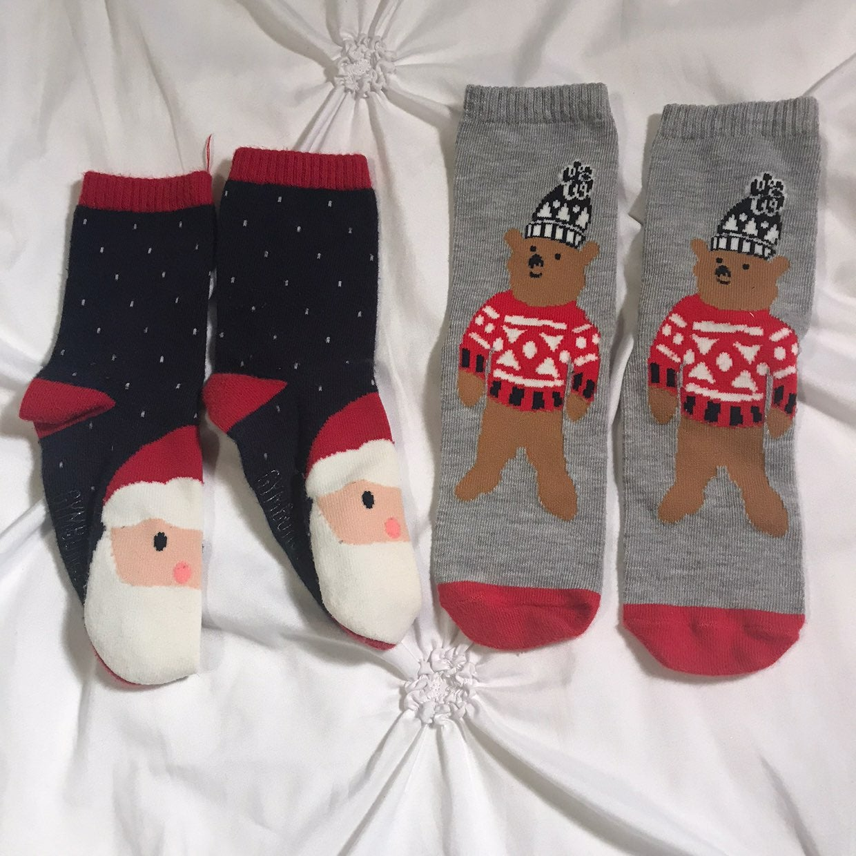 Boys Christmas Socks Toddler
