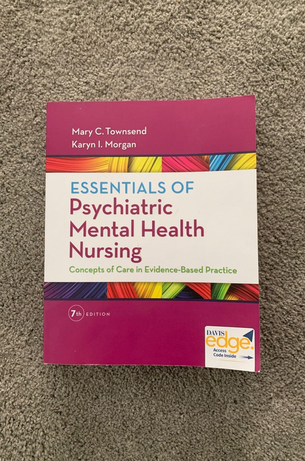 Townsend Psychiatric mental Health Nursi