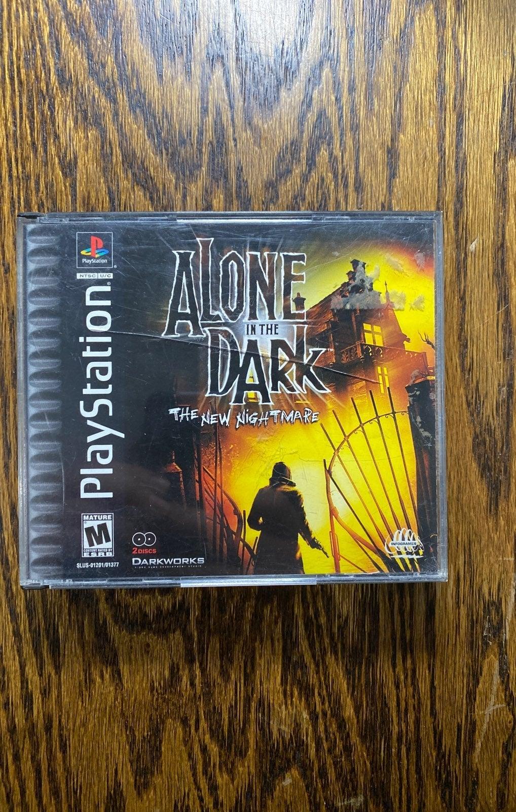 PS1 alone in the dark