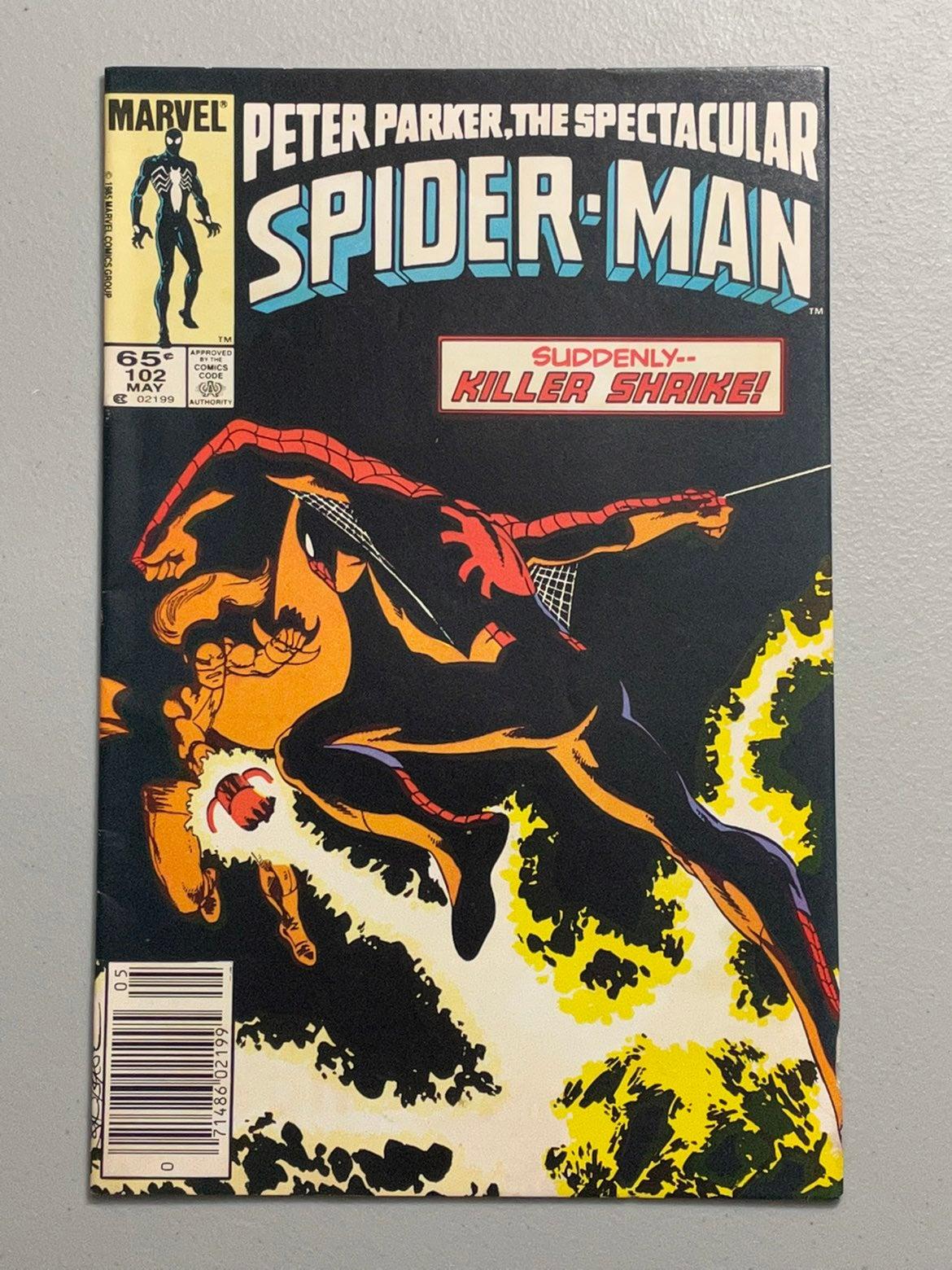 Spectscular Spider-Man # 102