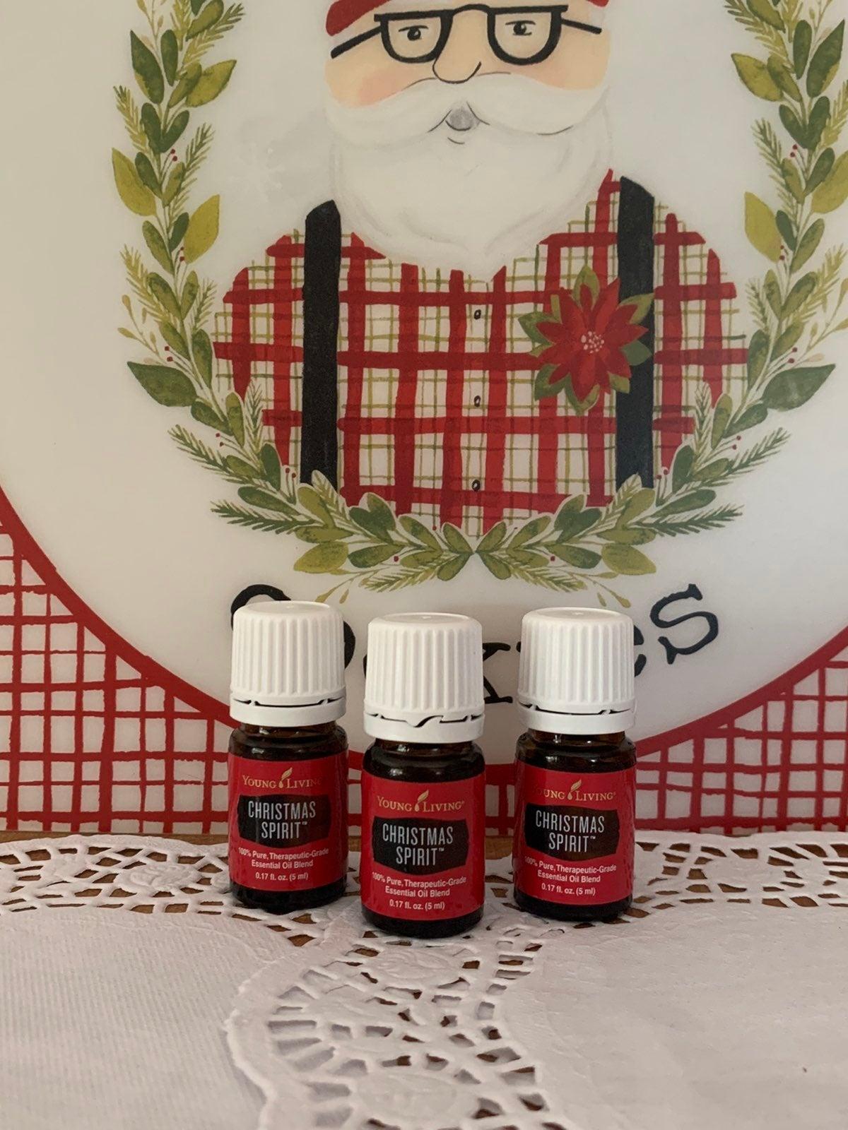 Young Living Essential Oils christmas