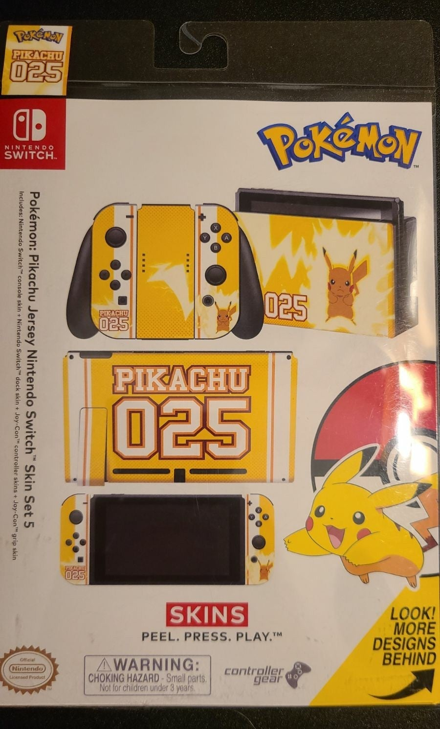 Pokémon Pikachu Skin