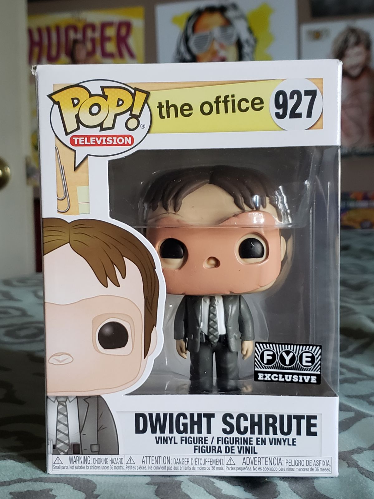 Funko The Office Dwight with Mask FYE